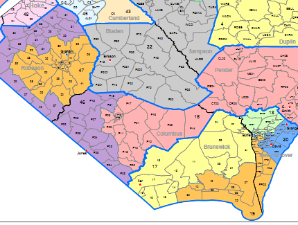How does the state's redistricting impact Wilmington-area voters?